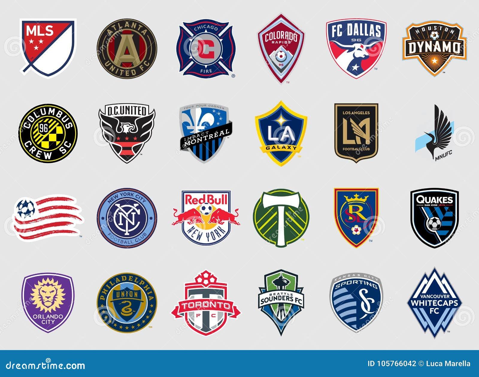 Major League Soccer combina logotipos