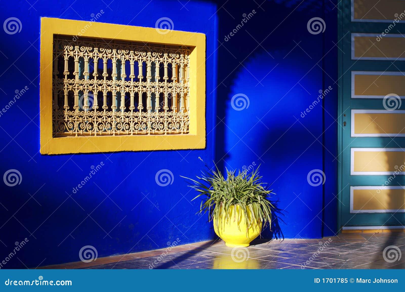 Majorelle okno
