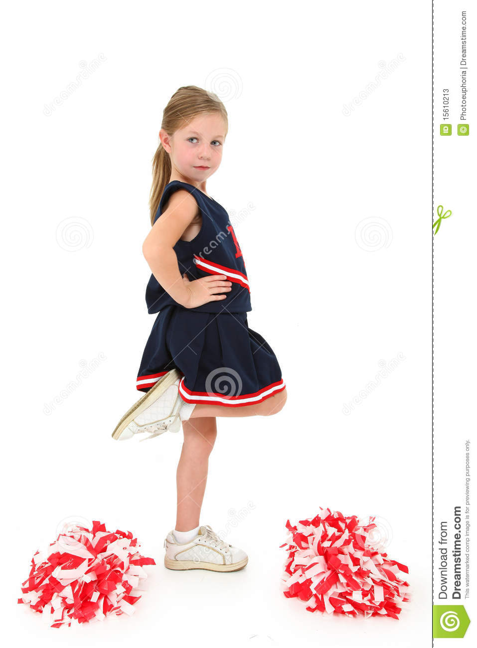 Majorette adorable