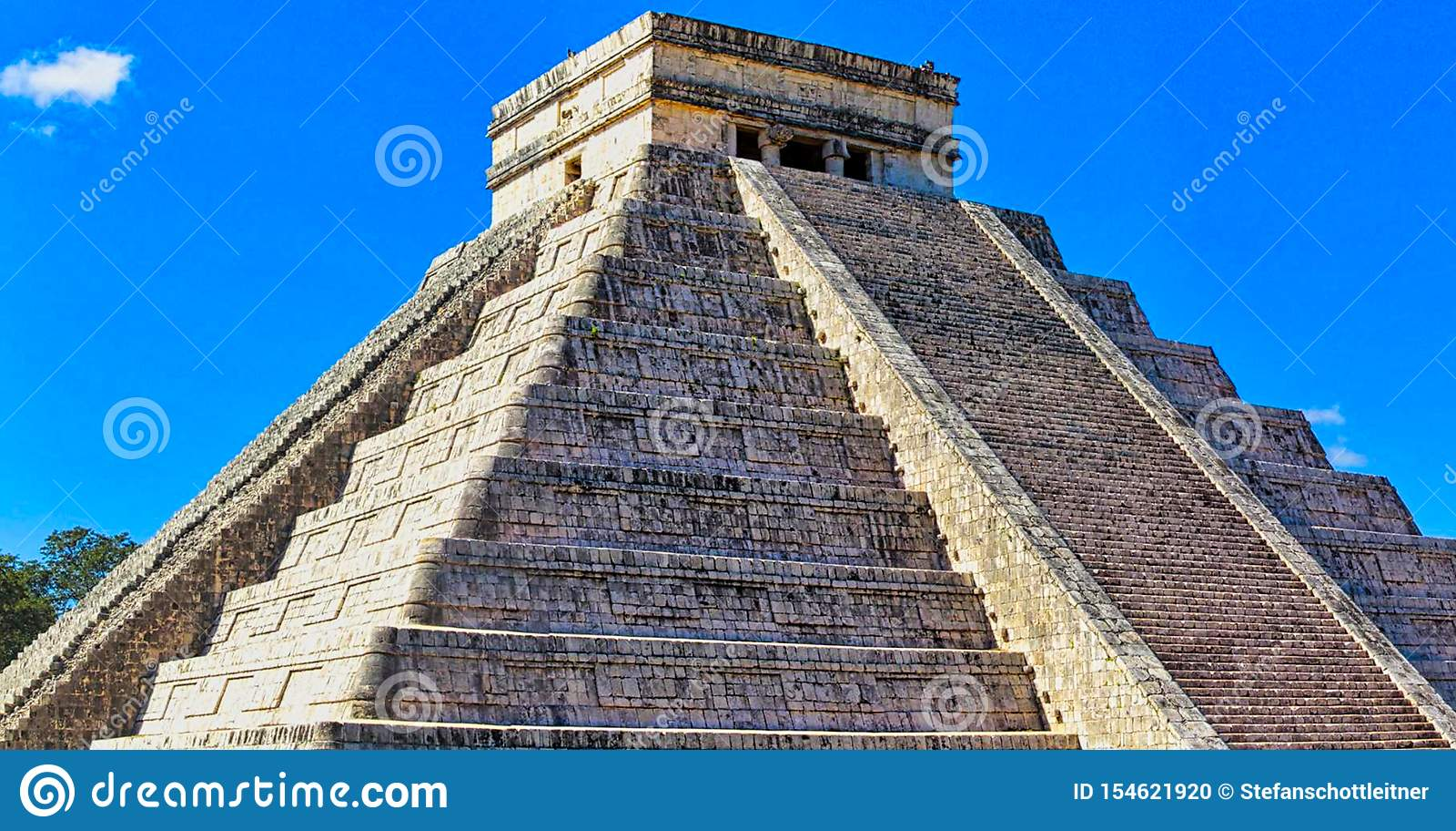 Majowie świątyni ruiny w Yucatan