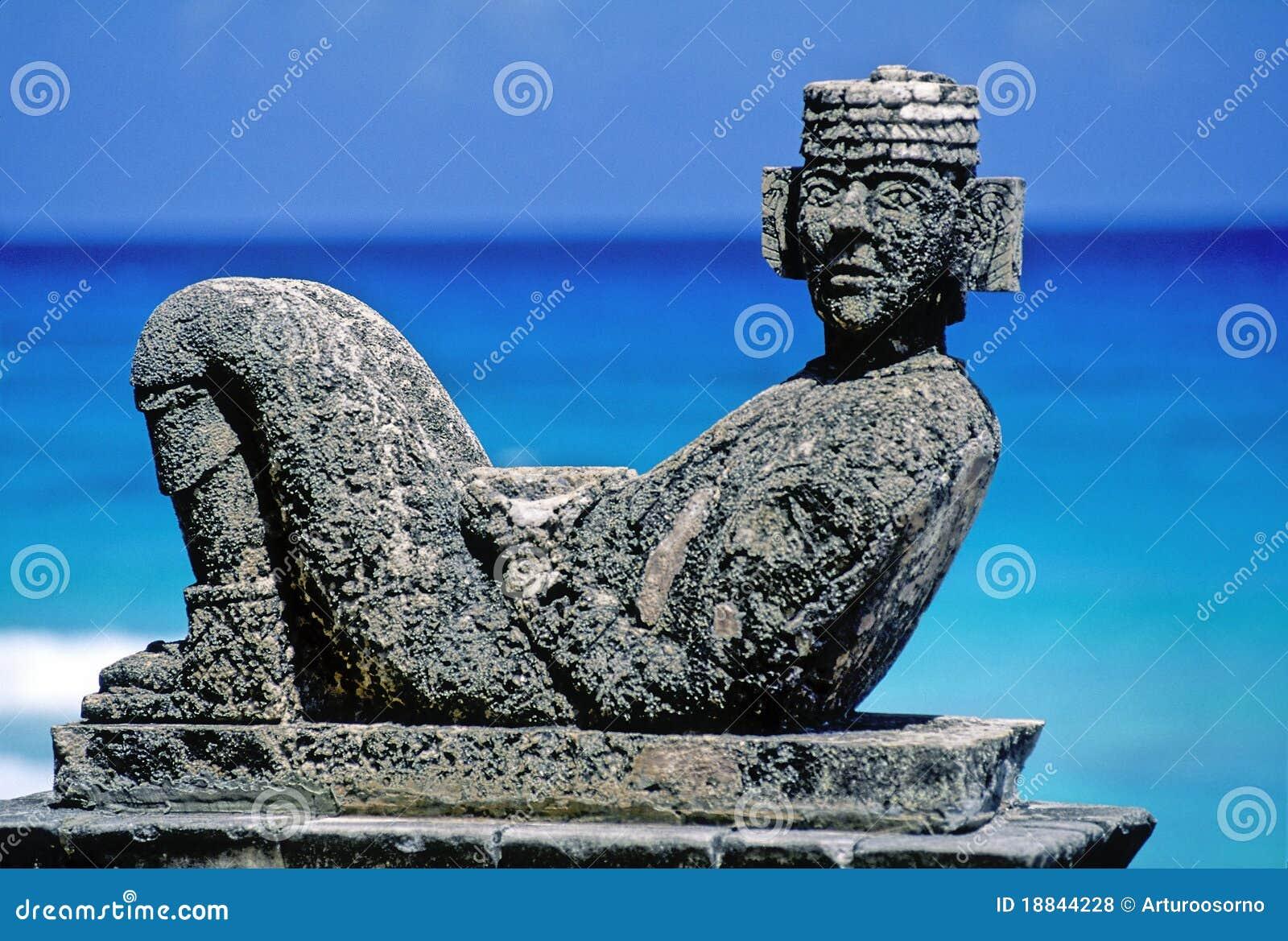 Majowie rzeźba