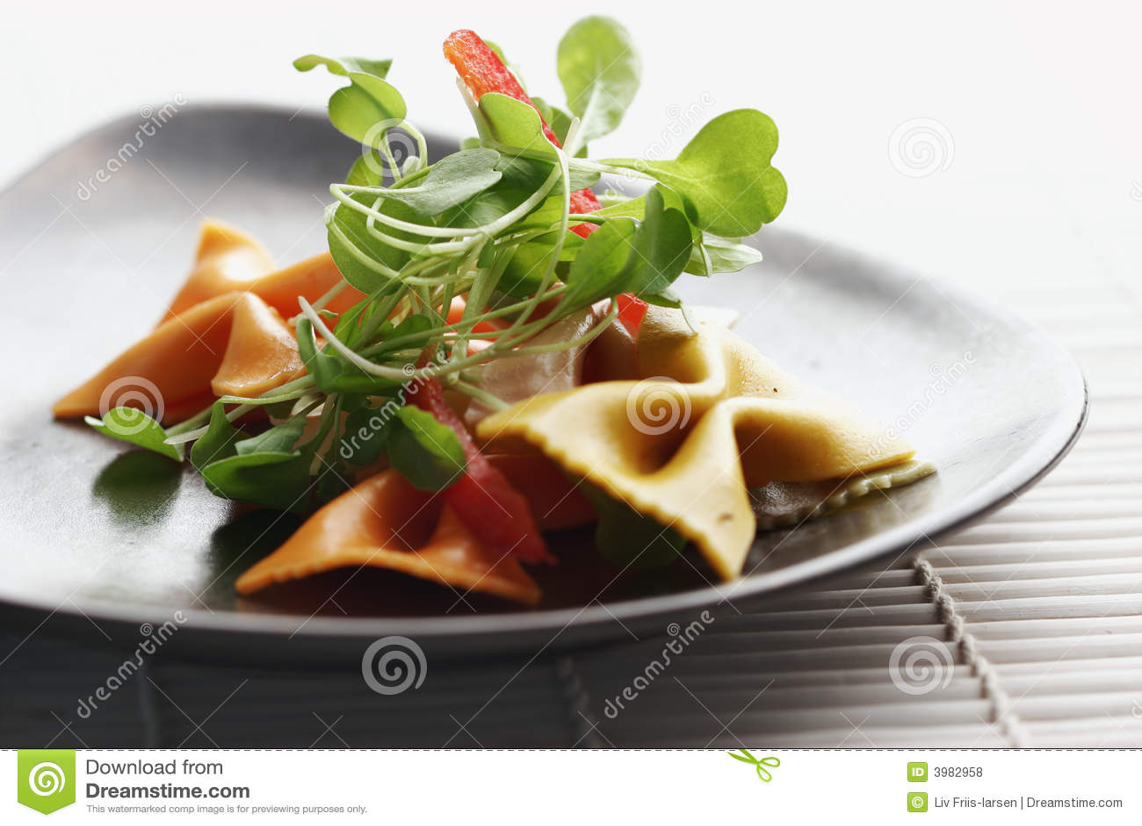 Makaron sałatkę