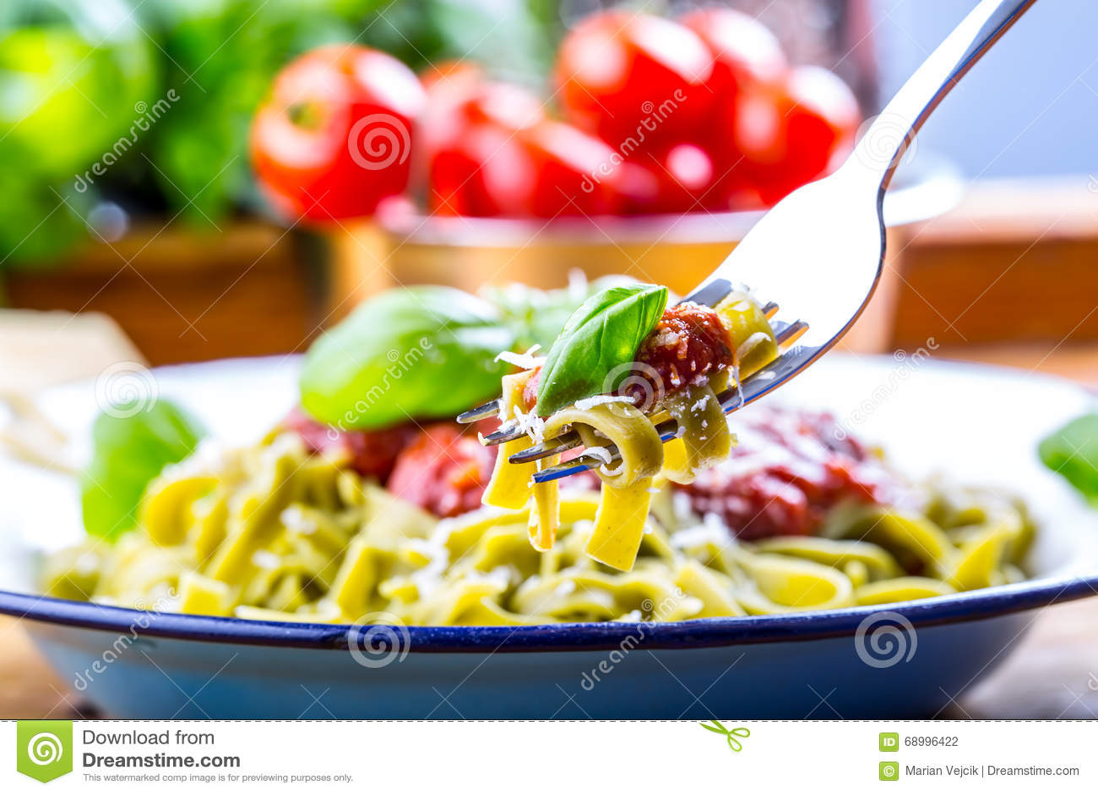 Makaron Włoska I śródziemnomorska Kuchnia Makaronu