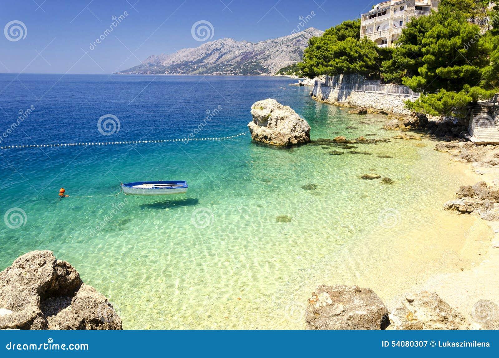 Makarska Riviera, Dalmatië, Kroatië