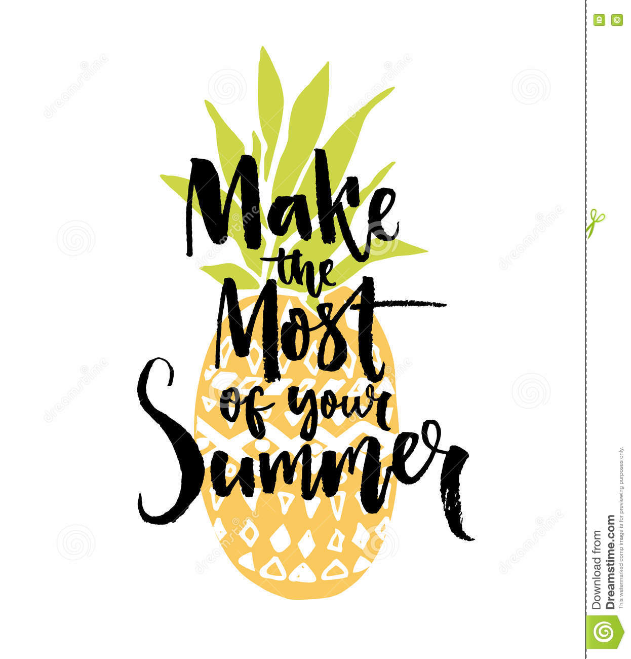 Make The Most Of Your Summer. Inspiration Quote ...