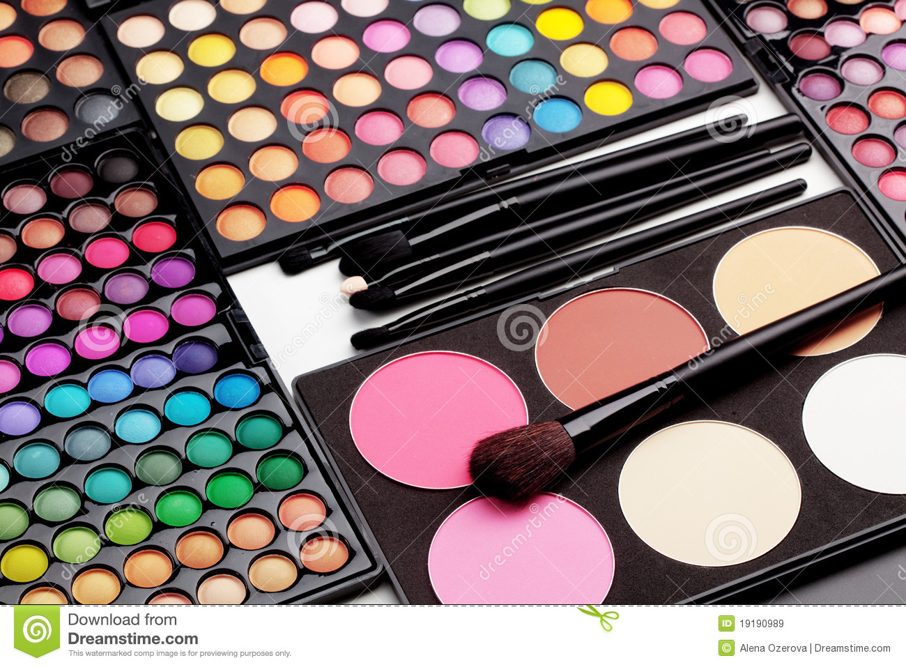 Make Up Palette Royalty Free Stock Images Image 19190989