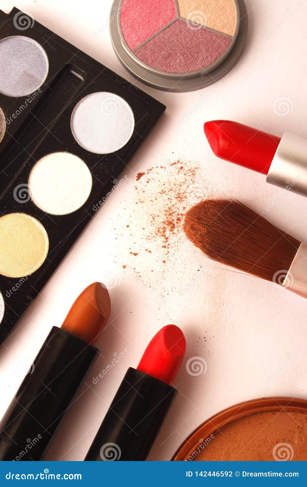 Make-up, schoonheidsmiddelen en borstels