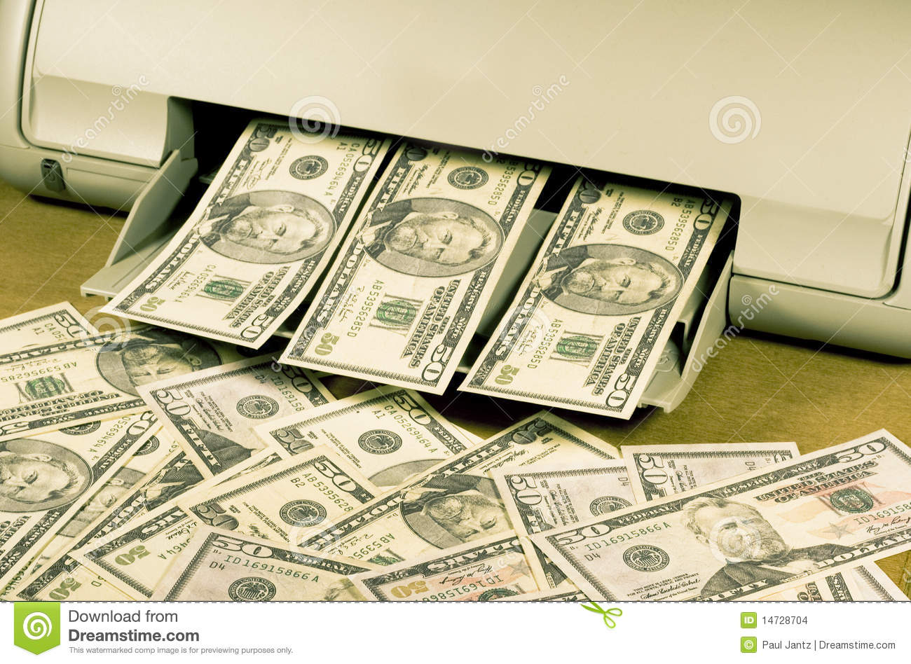 Make Your Own Money Stock Images Image 14728704