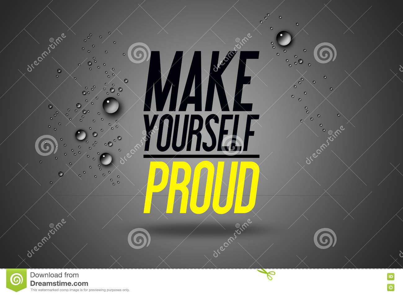 Make Yourself Proud. Workout And Fitness Gym Motivation ...