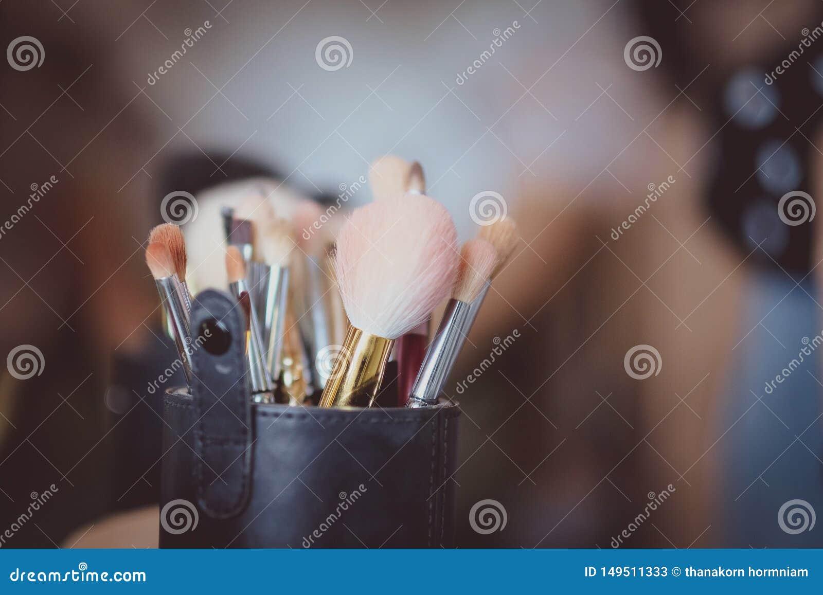 Makeup βούρτσες καθορισμένες