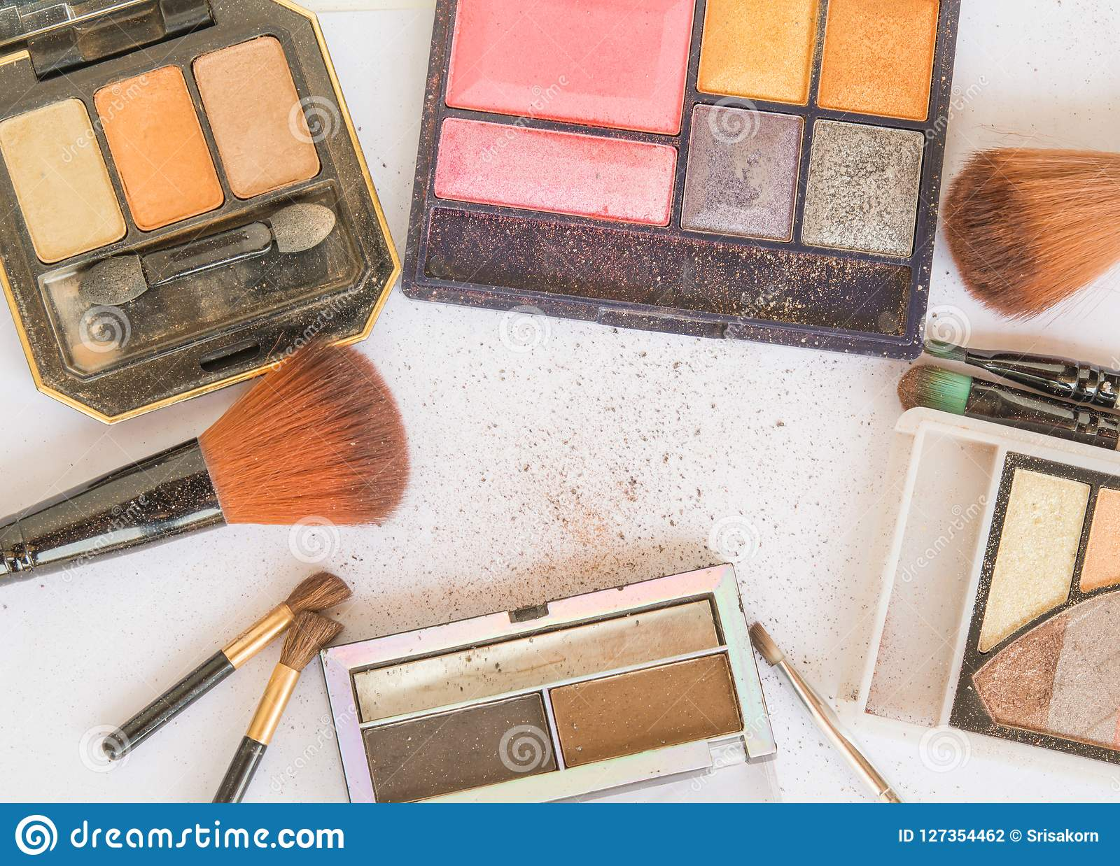 Equipment and Cosmetics For makeup At the Makeup