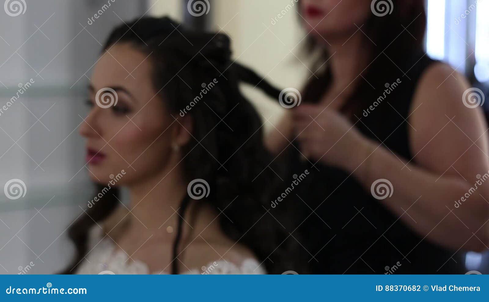 Makeup Stock Footage Image Of Haircut Makeup Black 88370682
