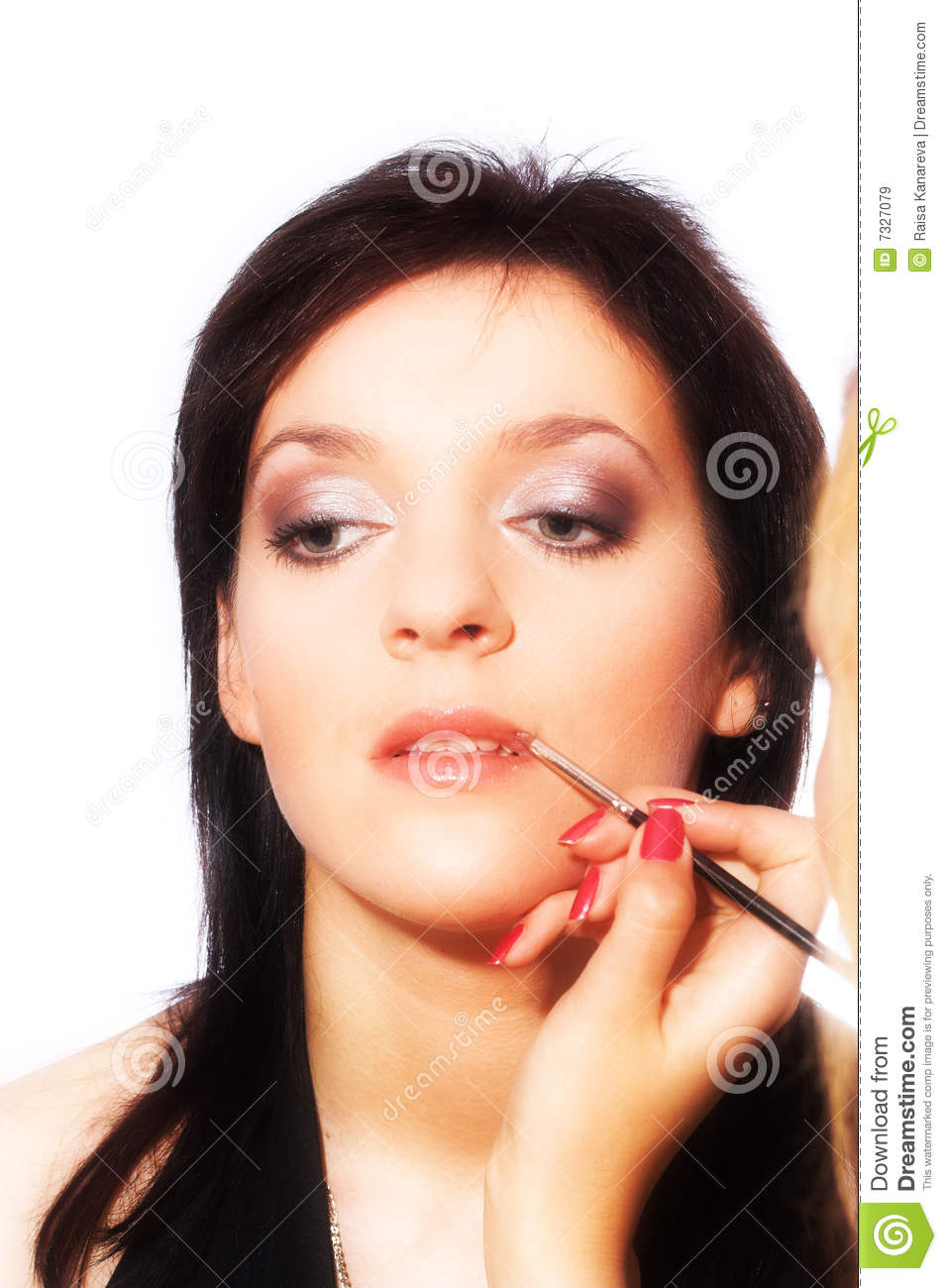 Makeup Artist At Work Royalty Free Stock Images - Image: 7327079
