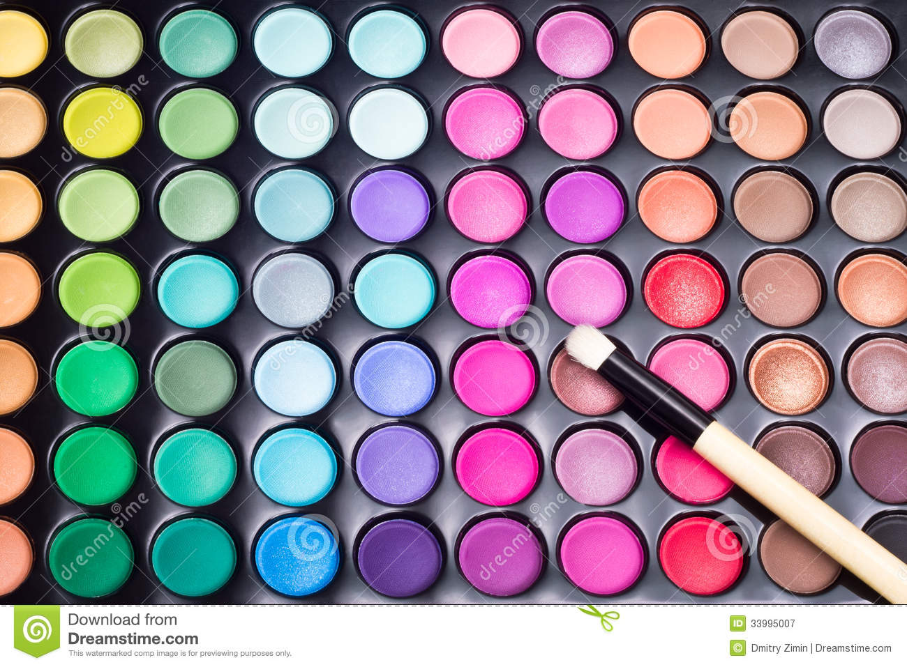 Makeup Background Stock Image Of Cosmetic Colorful