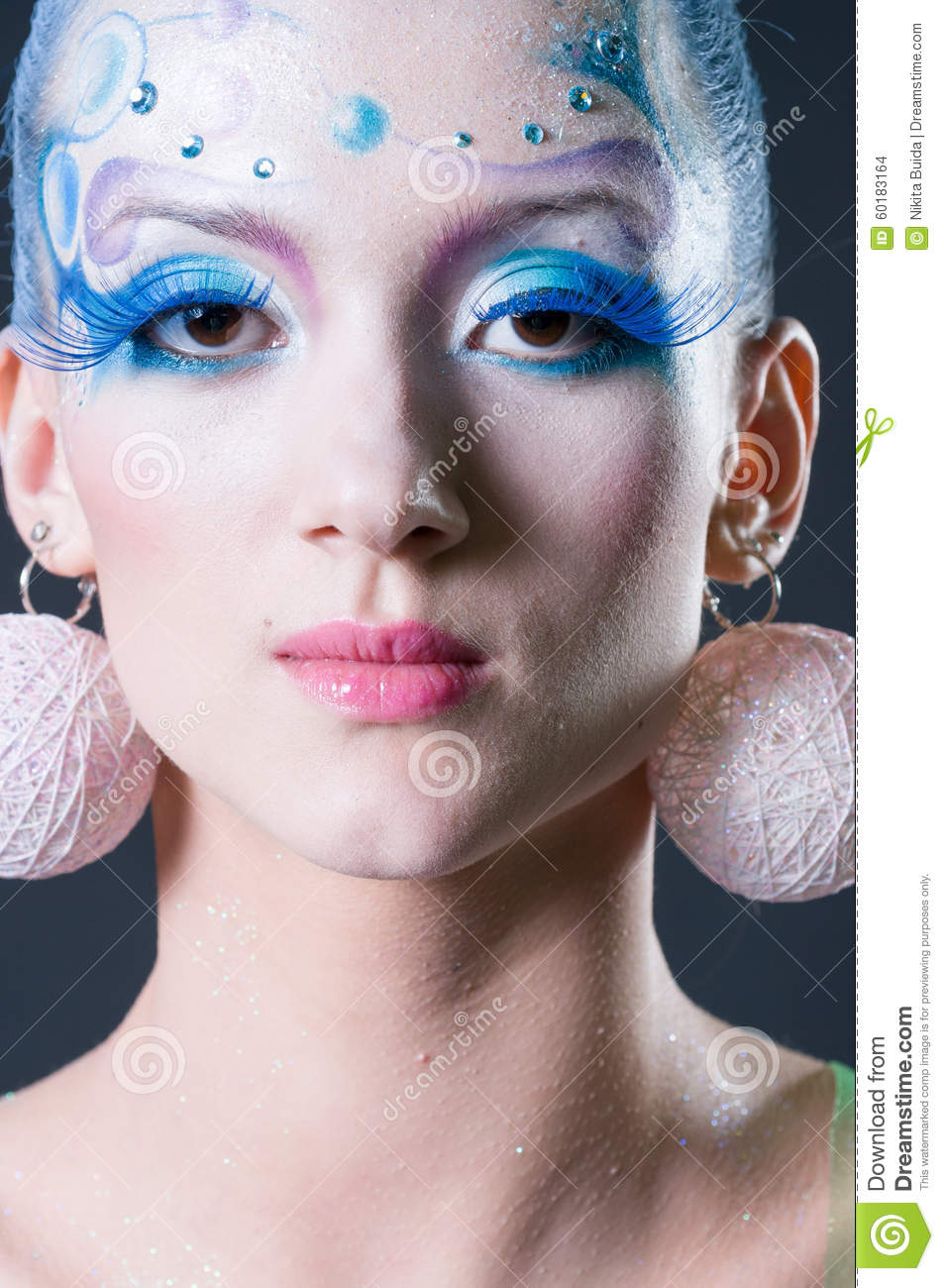 Makeup And Hair Artists Competition Editorial Stock Image - Image 60183164