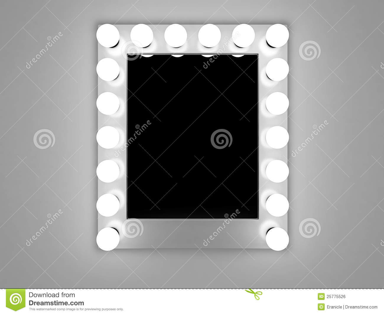 Makeup Mirror Royalty Free Stock Image Image 25775526