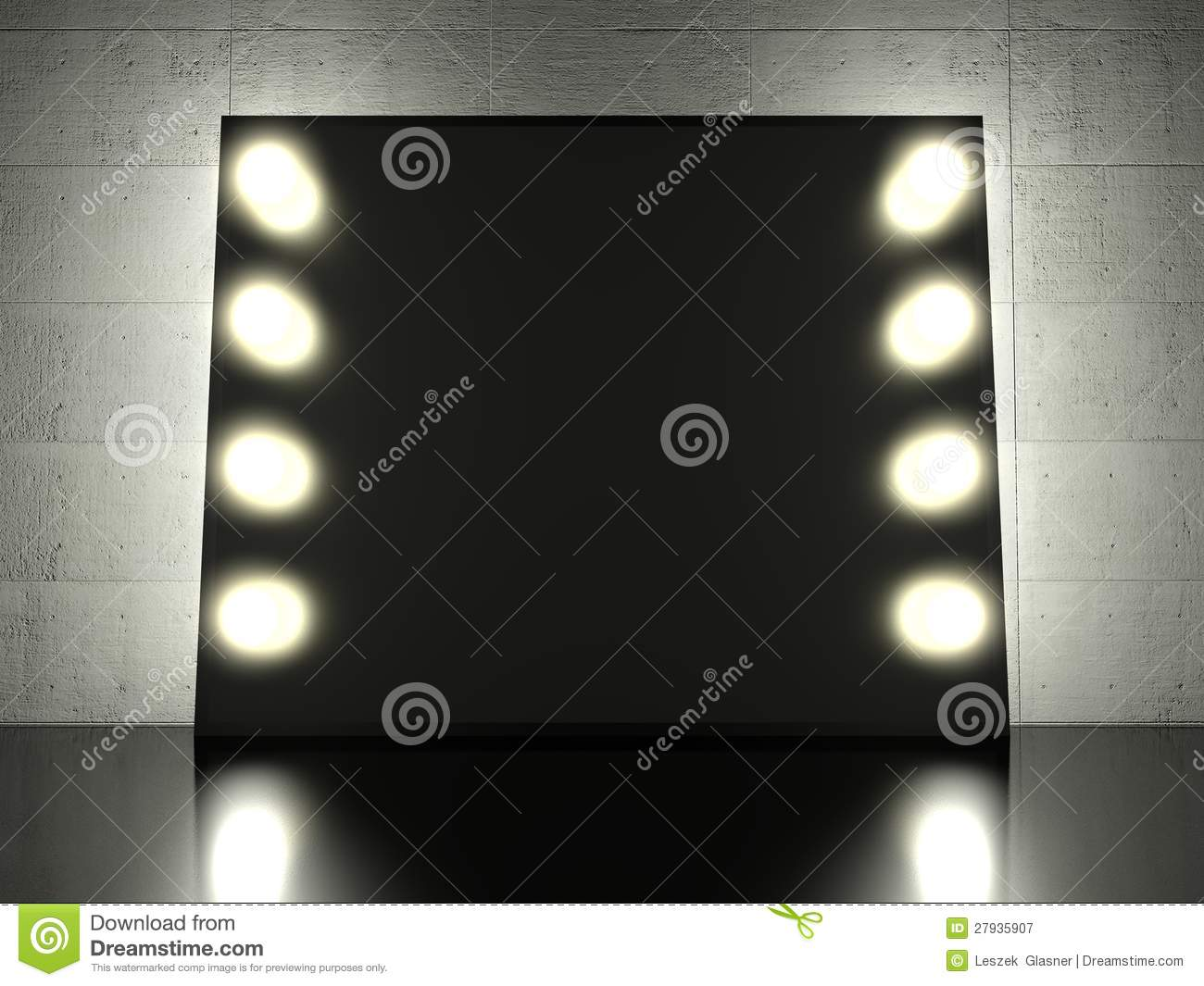 free stock photography makeup mirror with light bulbs background. Black Bedroom Furniture Sets. Home Design Ideas
