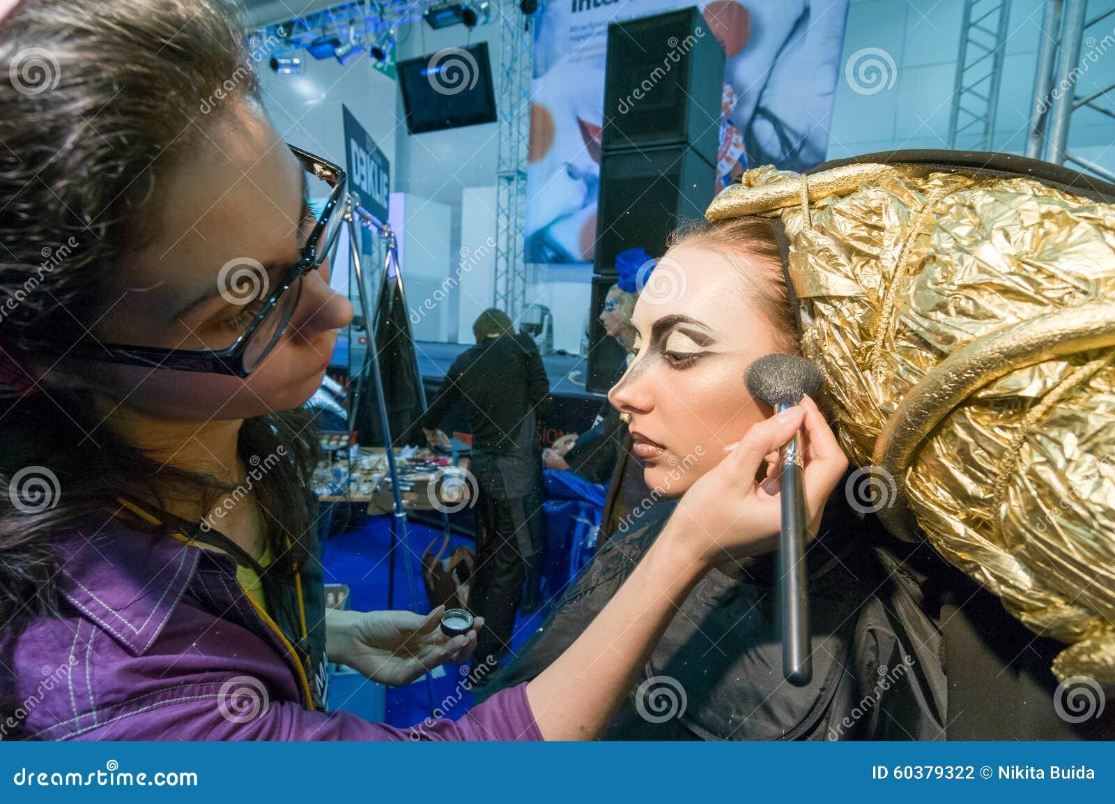 Makeup och hårkonstnärkonkurrens