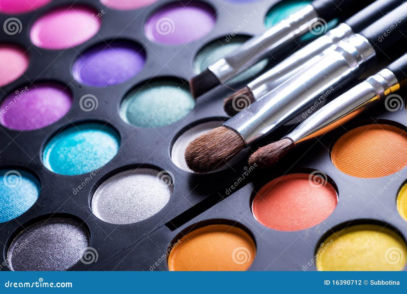 Makeup Palette Stock Photo Image Of Macro Cosmetic