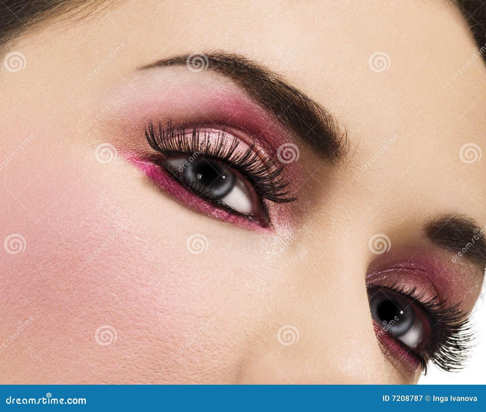 Makeup piękna kobieta