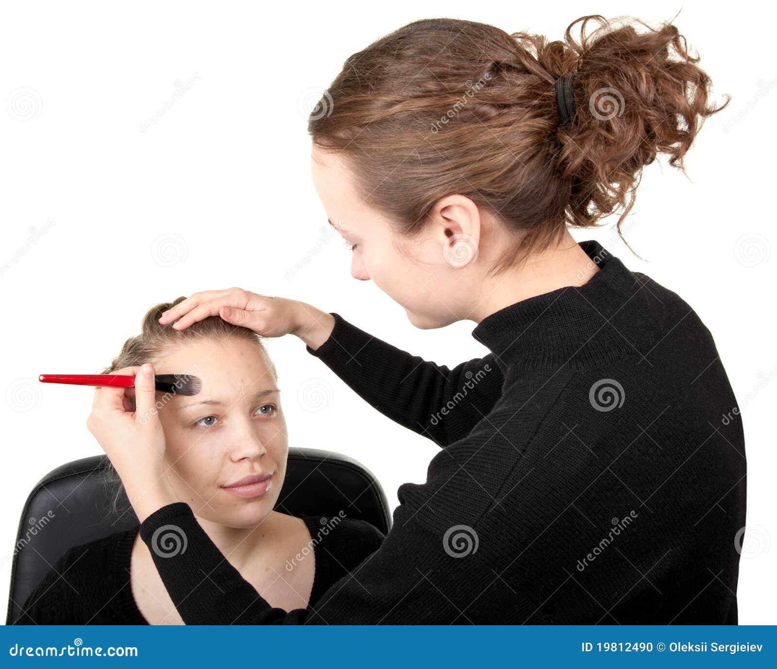 Makeup Process Shot 18 Stock Photo - Image: 19812490