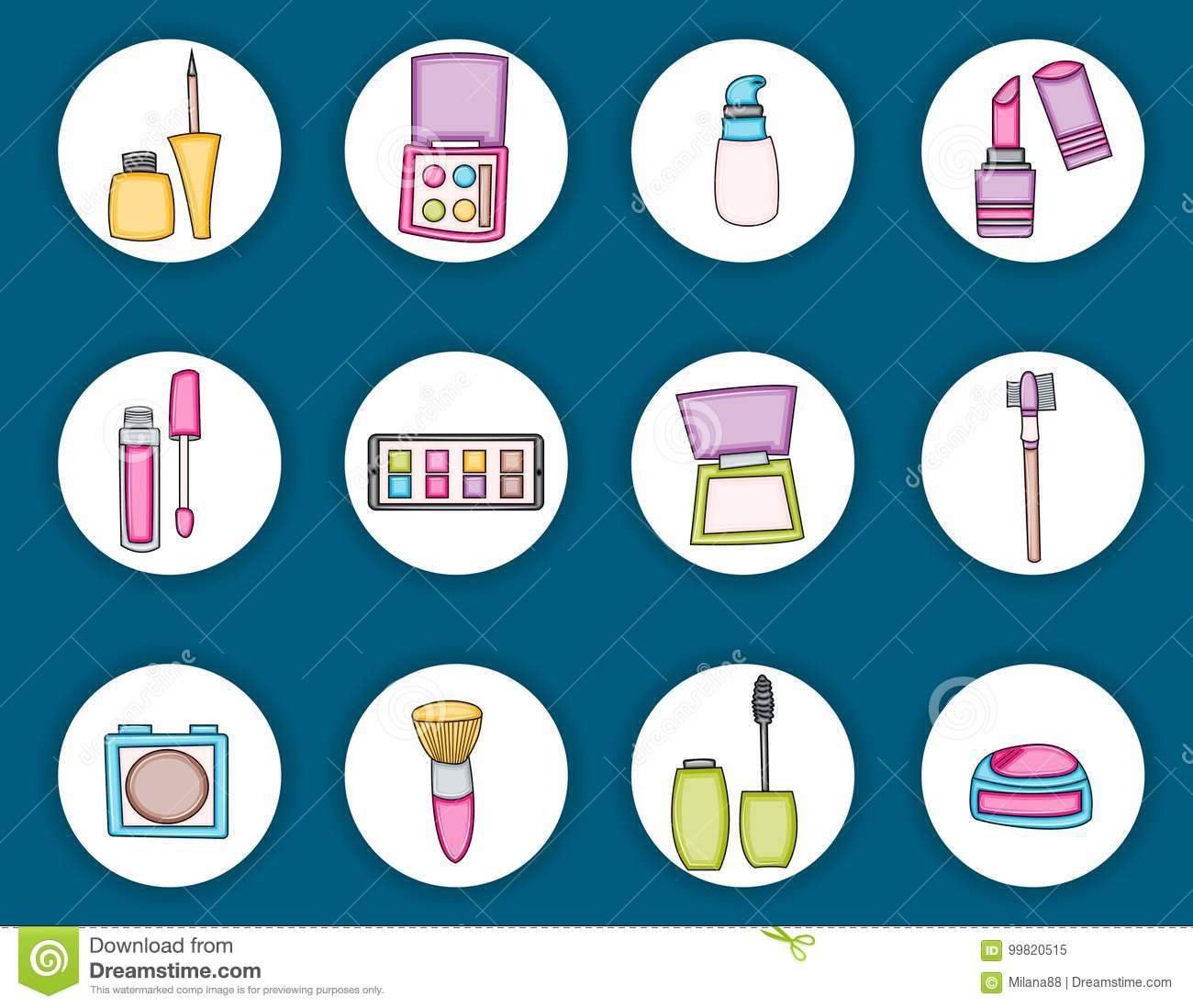 Beauty Products Cartoon Stock Illustrations 1 861 Beauty Products Cartoon Stock Illustrations Vectors Clipart Dreamstime
