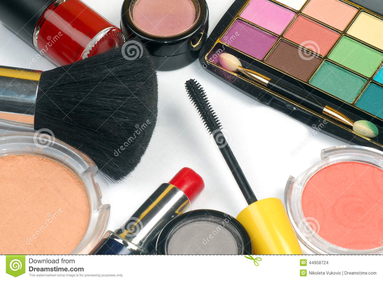 makeup different colorful