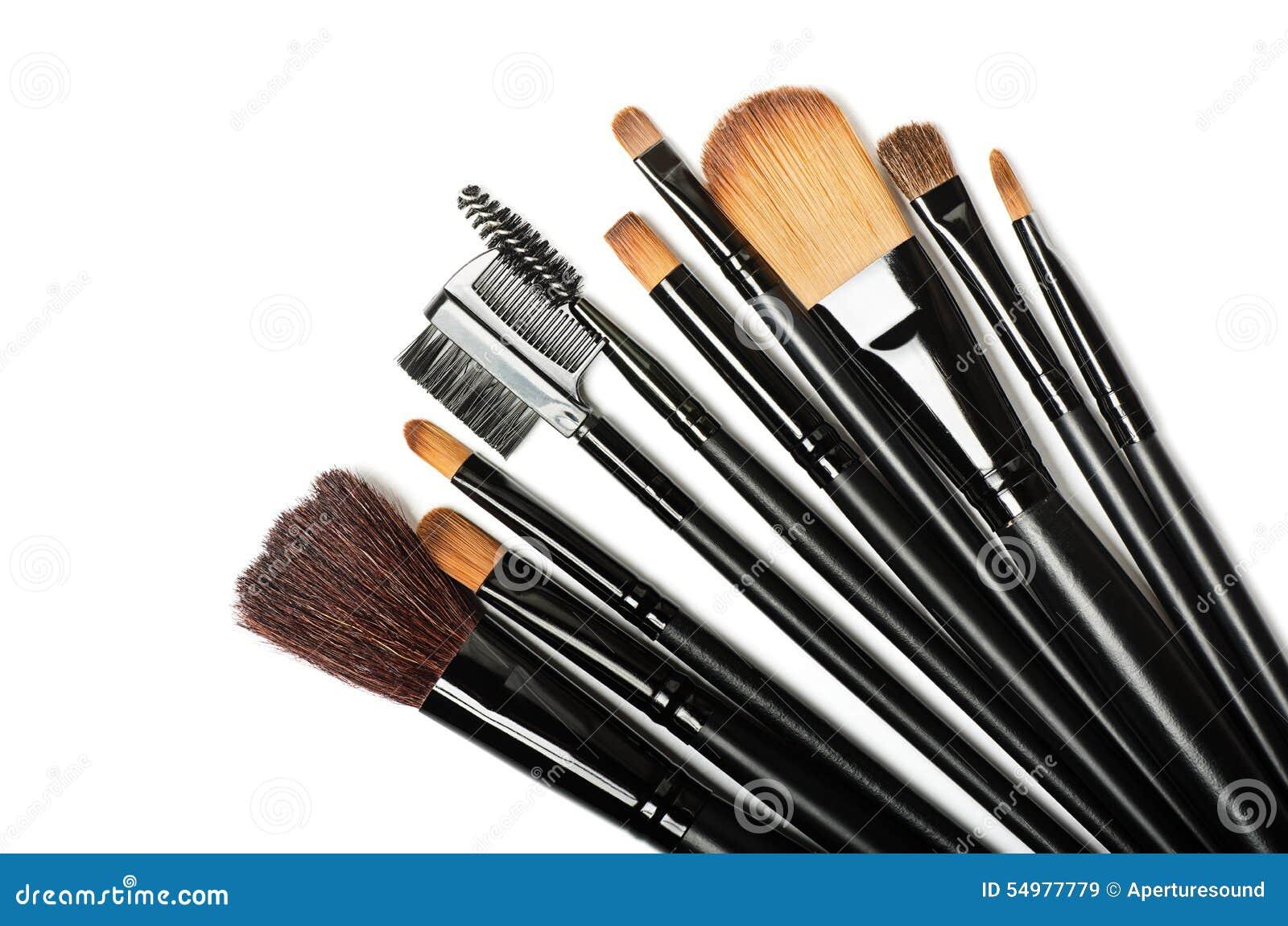 Makeupborsteuppsättning