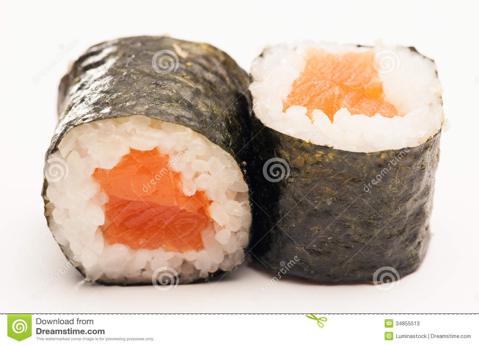 Maki Sushi Rolls Stock Photos - Image: 34855513