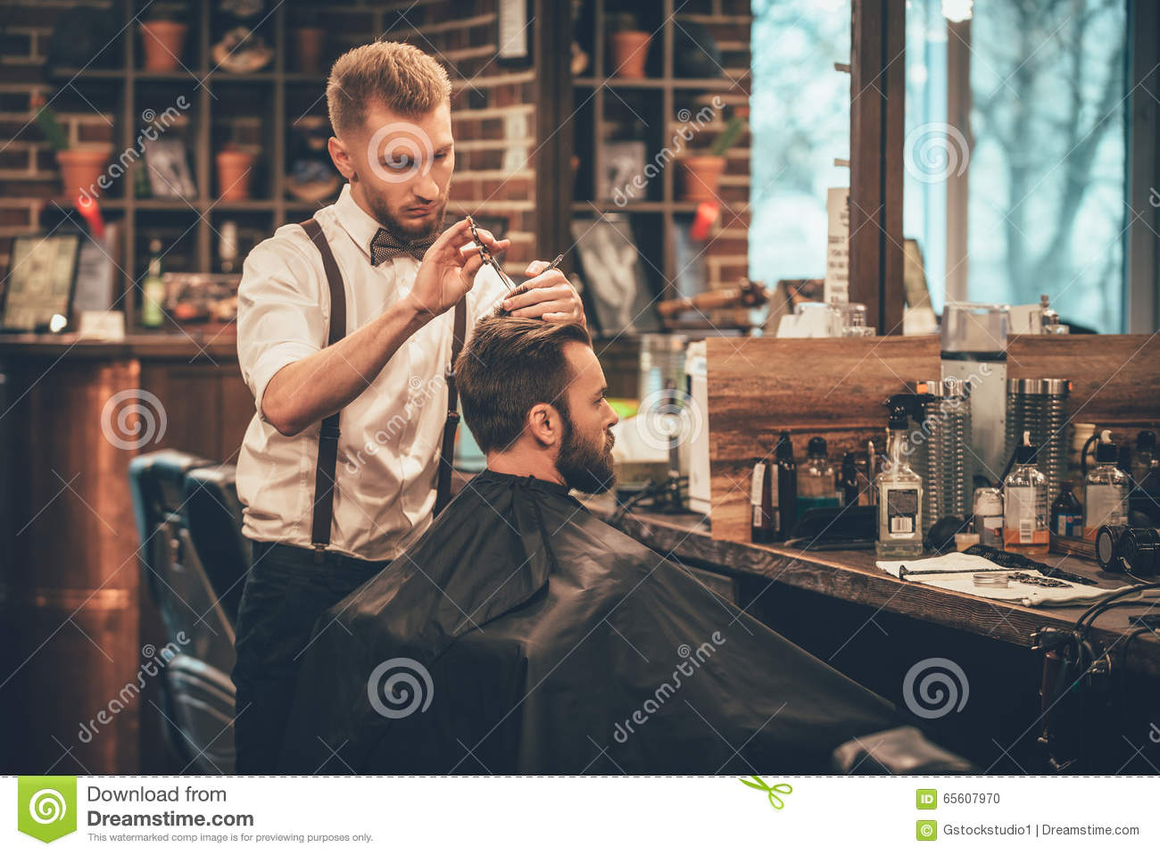 Making Hair Look Magical Stock Photo Image Of Comb 65607970