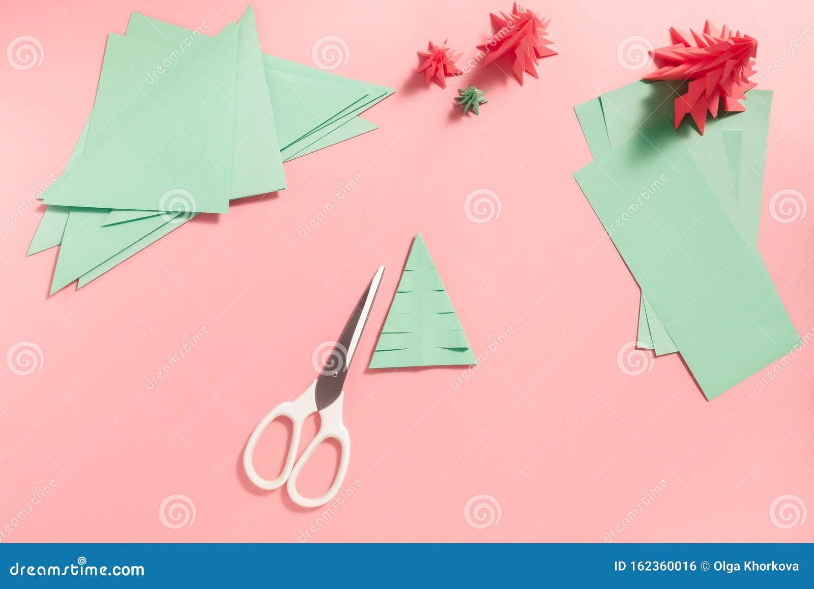 HOW TO MAKE 3D ORIGAMI CHRISTMAS TREE |PAPER CHRISTMAS TREE ... | 1155x1600