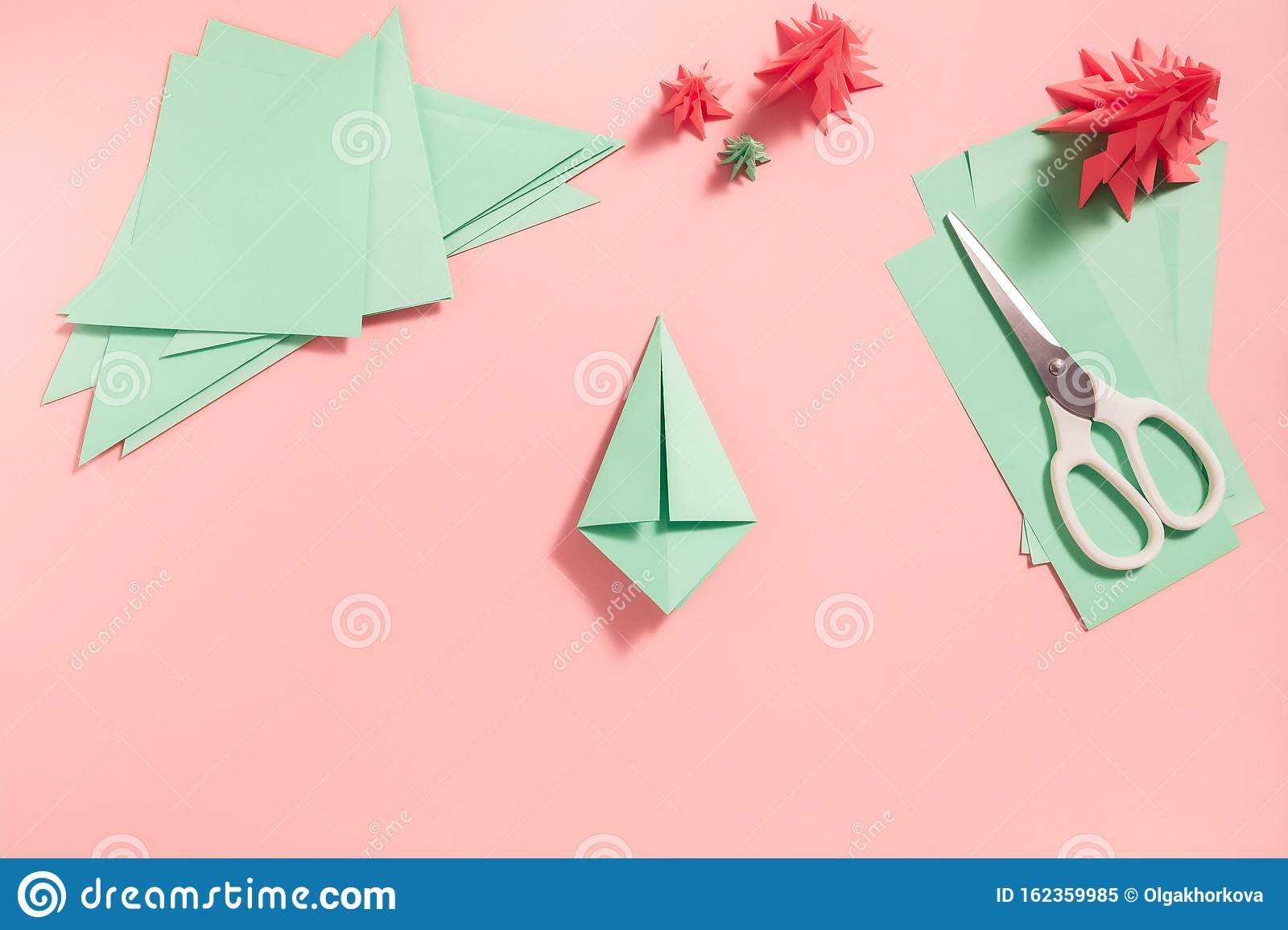 Christmas Ornament Origami Folded Pictures   Origami natale ...   1155x1600