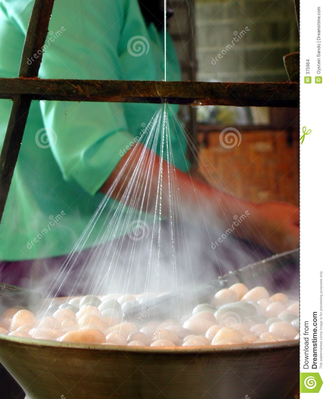 Http Www Dreamstime Com Stock Images Making Silk Image375964