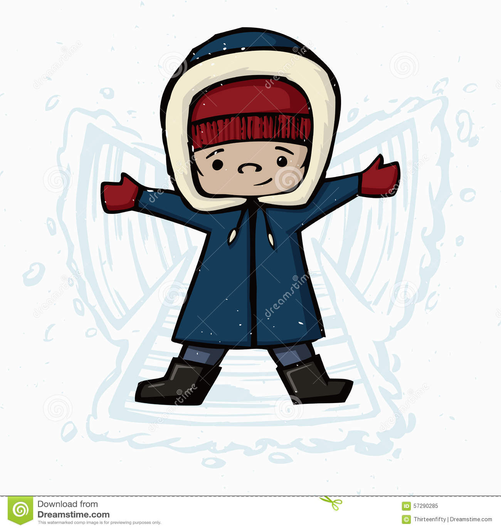 snow angel wallpaper cartoon -#main
