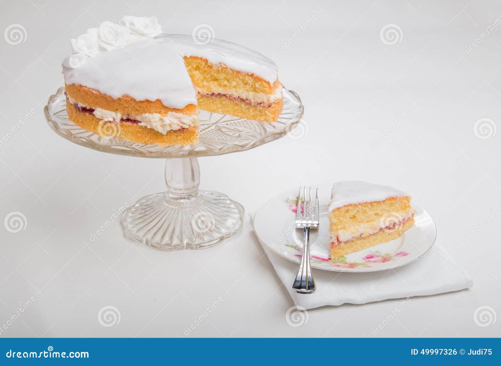 Horizontal Butter Cream Cake