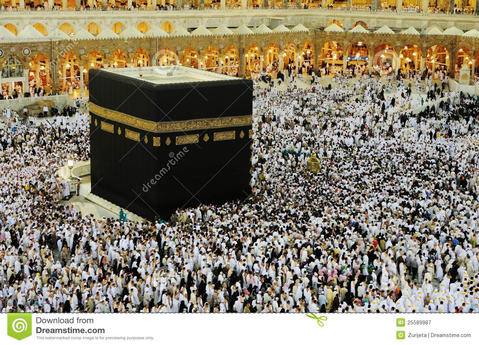 Makkah Kaaba Hajj Muslims Editorial Photography. Image Of