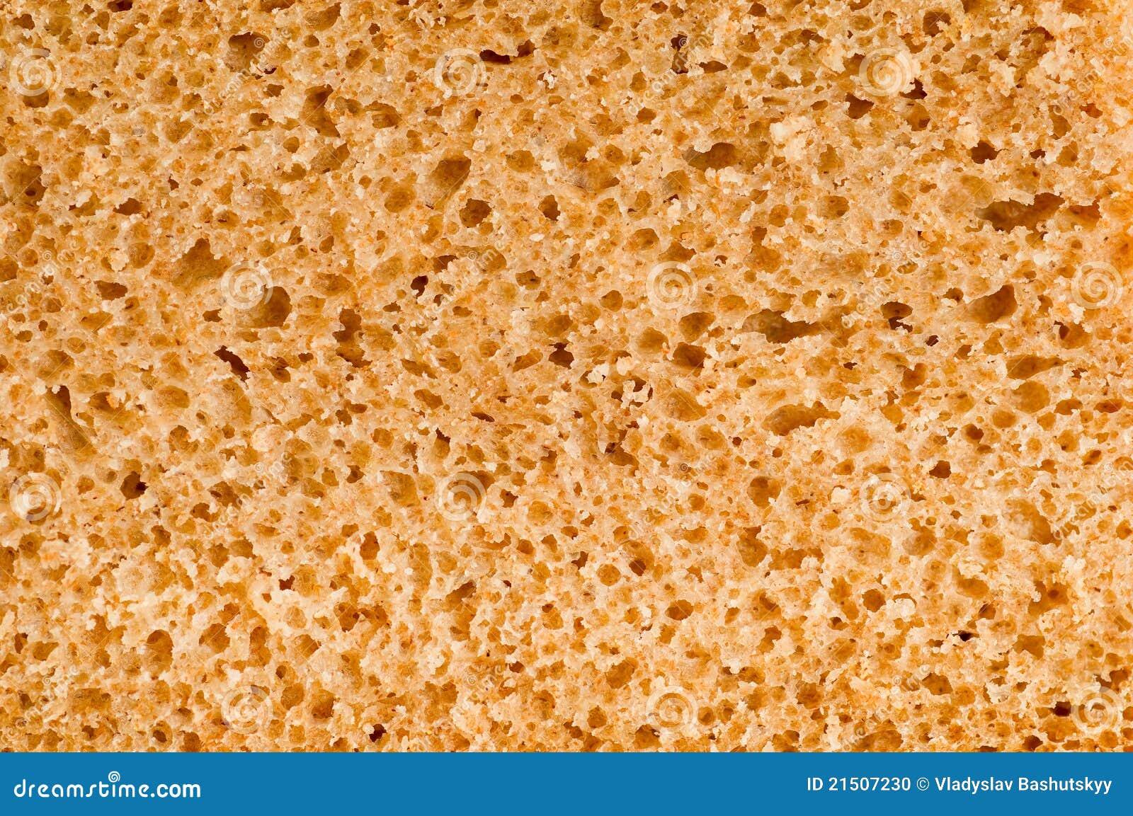 Makro av brödtextur
