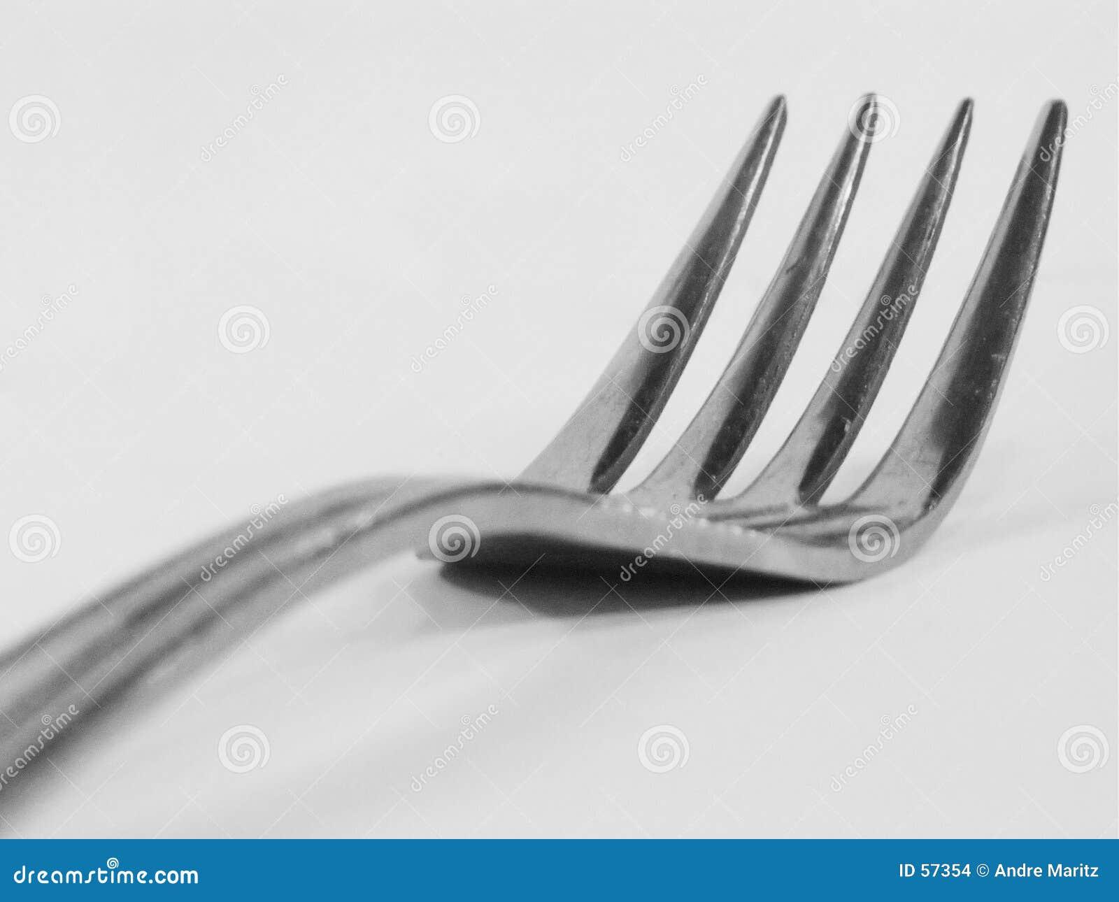 Makro för 2 gaffel