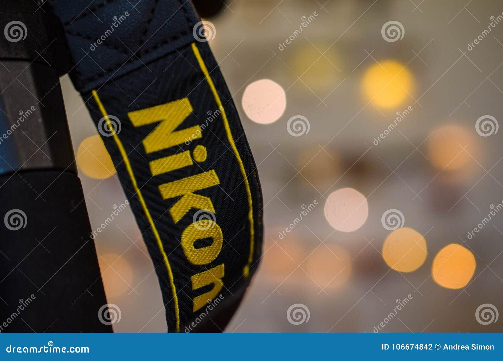 Makro- strzał Nikon kamery patka
