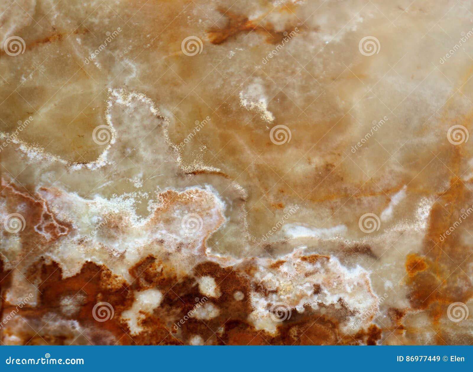 Makrobeschaffenheit der Natur - Onyxstein