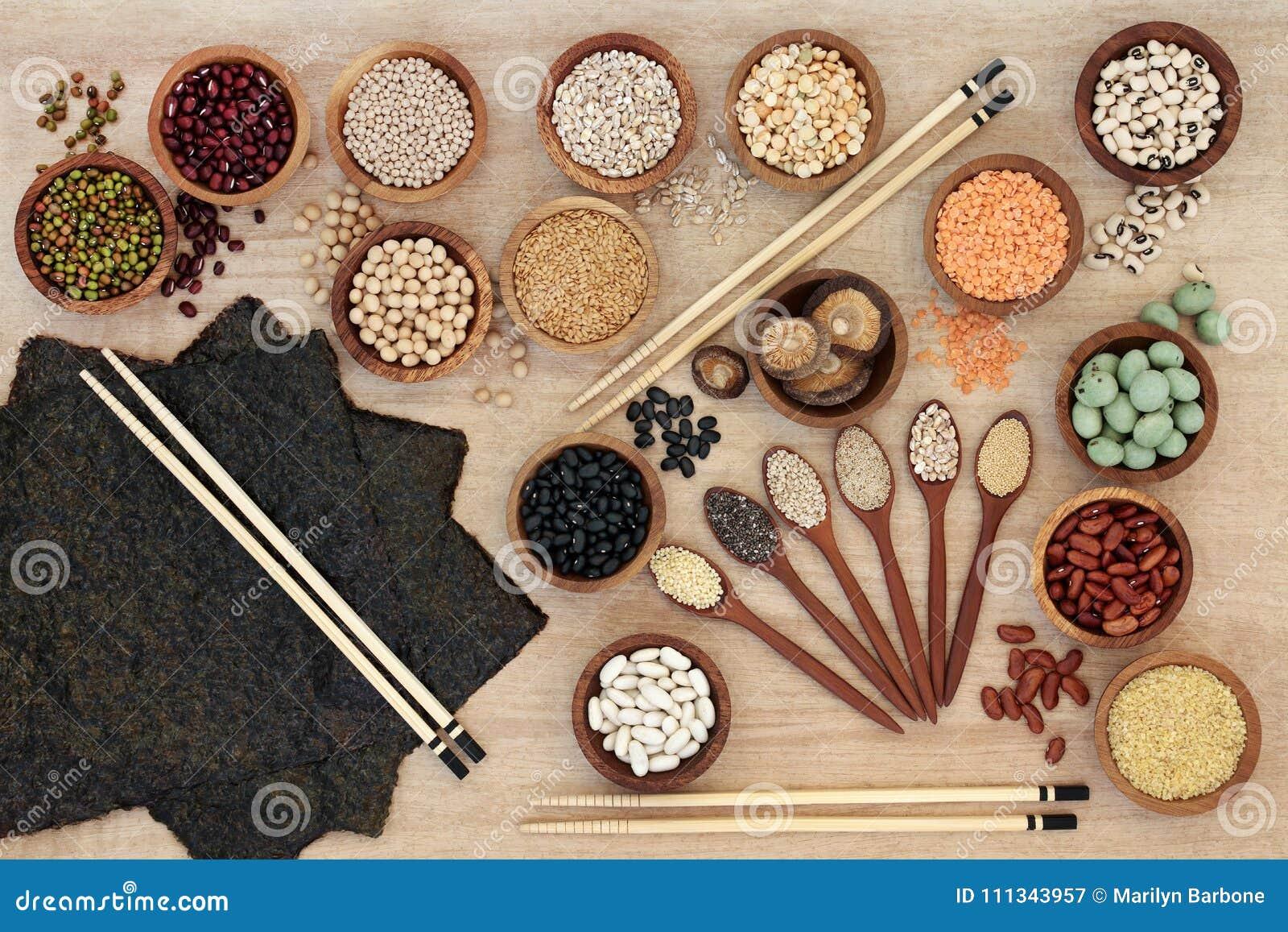 Makrobiotycznej diety jedzenie