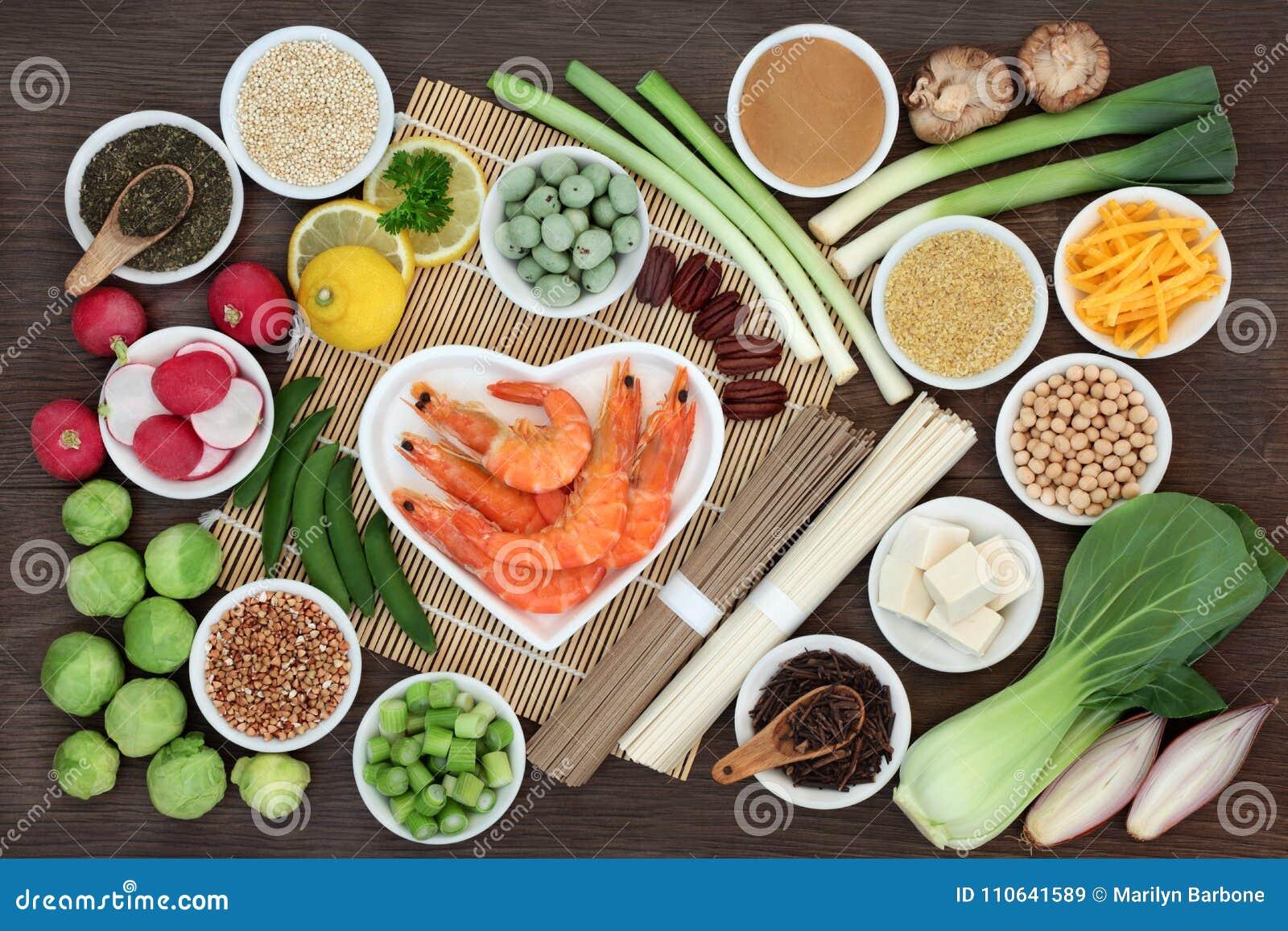 Makrobiotycznej diety zdrowie jedzenie