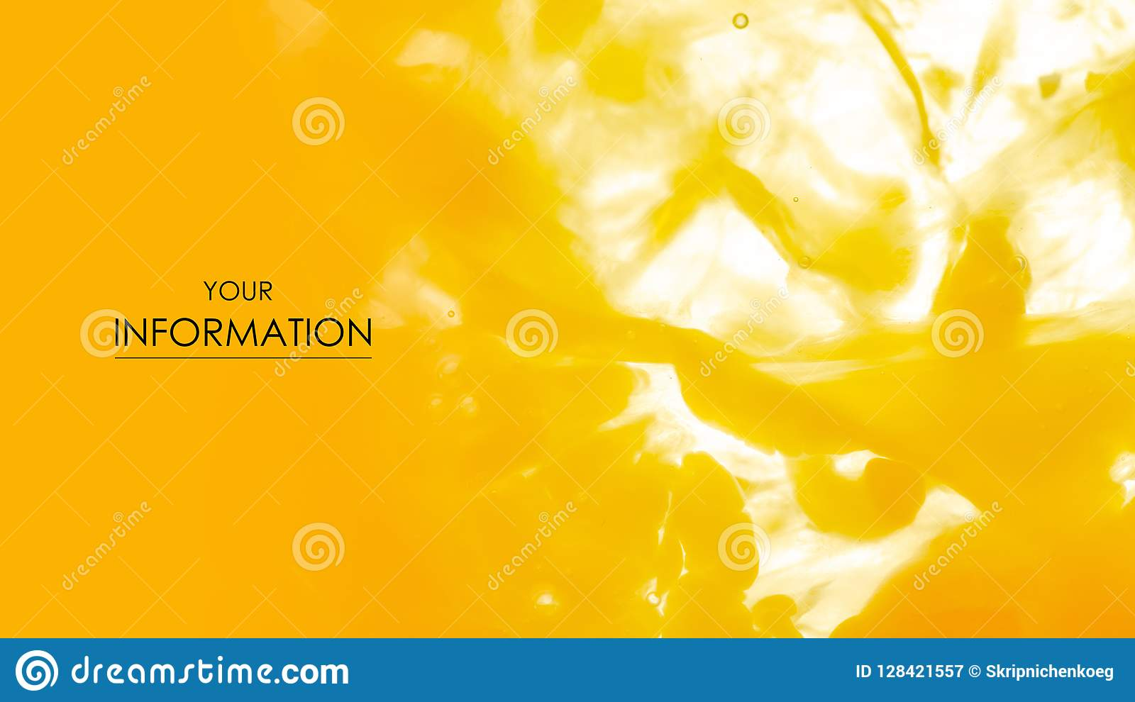 Makrolebensmittelmuster des gelb-orangeen Eigelbs