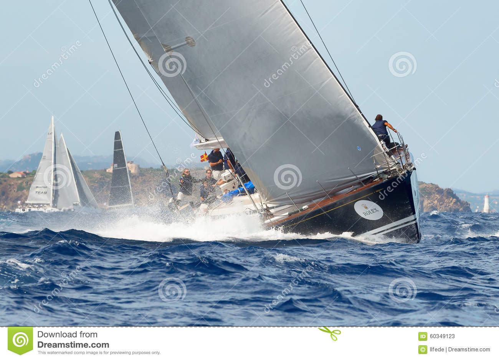 Maksia jachtu Rolex filiżanki żagla łódkowata rasa