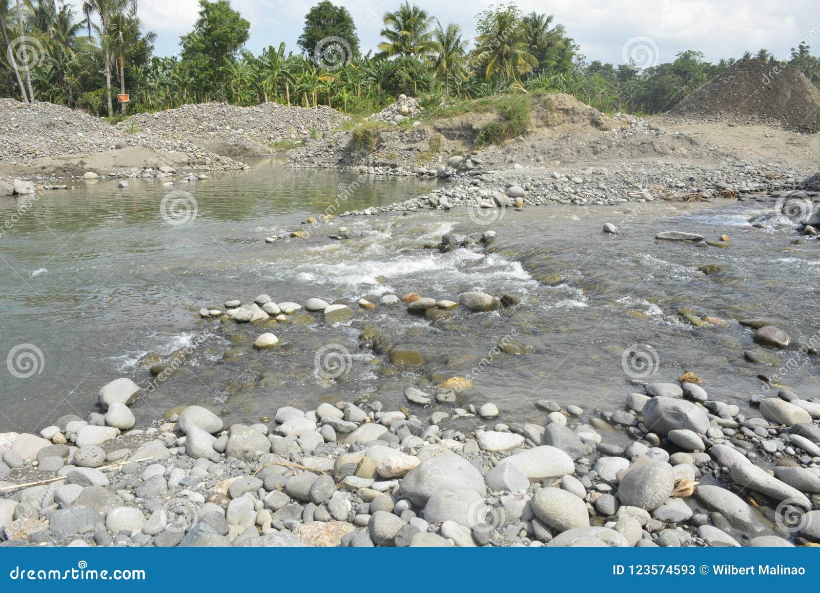 Mal河, Matanao,南达沃省,菲律宾河床