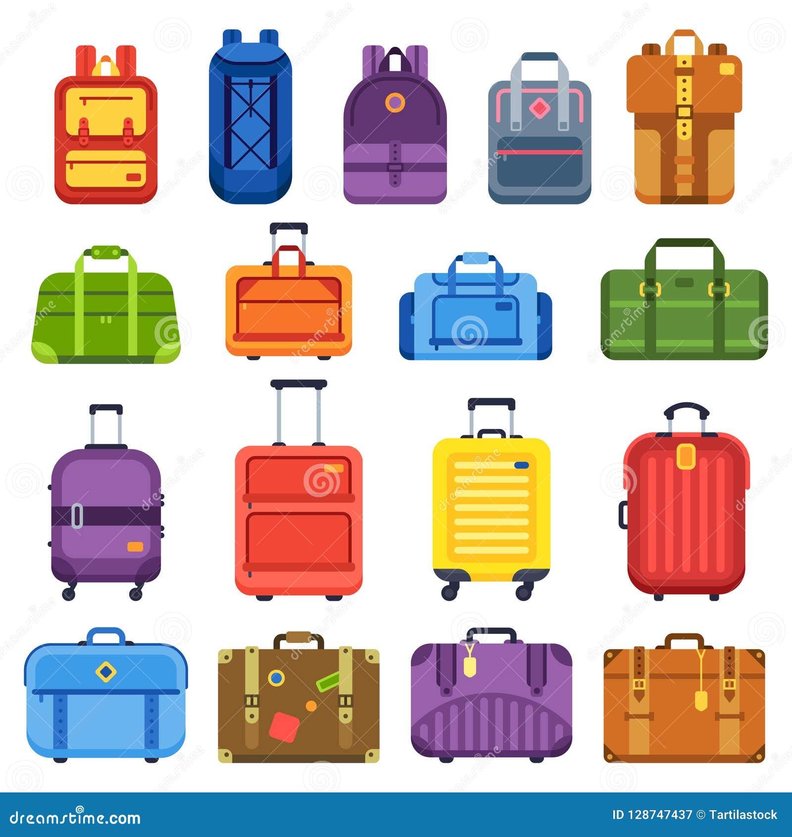Mala de viagem da bagagem Segure o saco do curso, trouxa da bagagem e as malas de viagem do negócio isolaram o grupo liso do veto