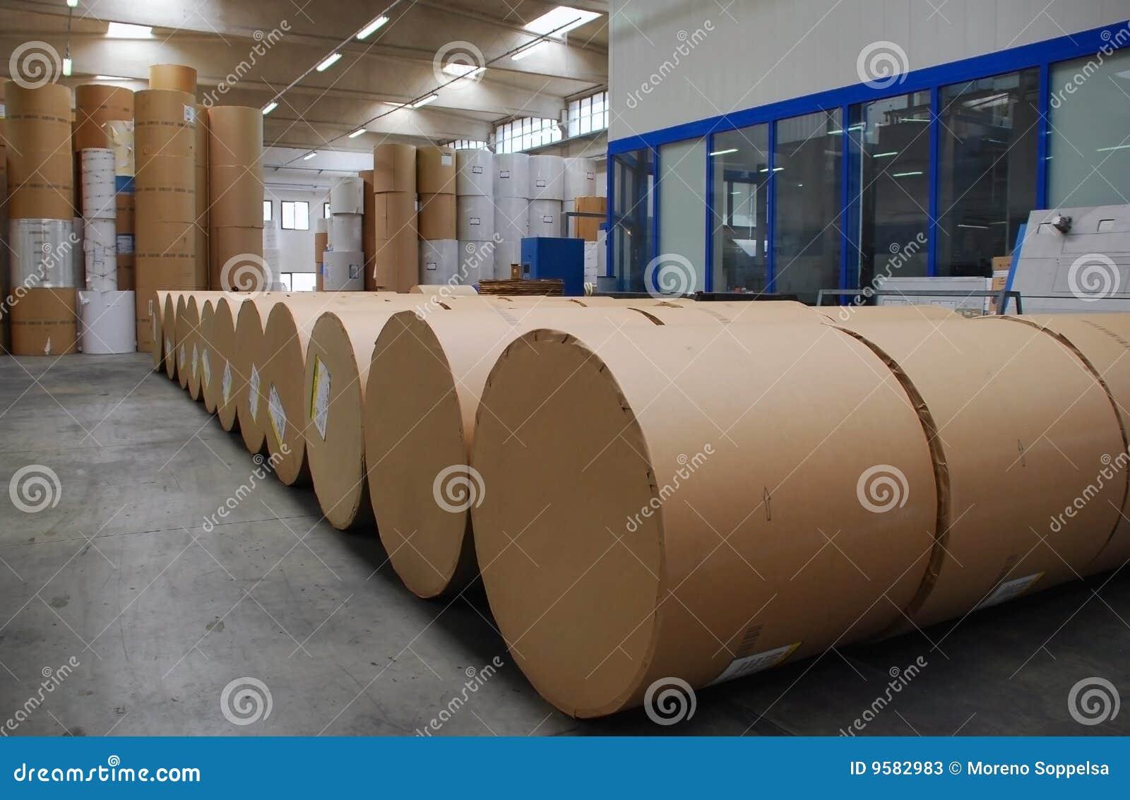 Mala det skräp- materielet för papper