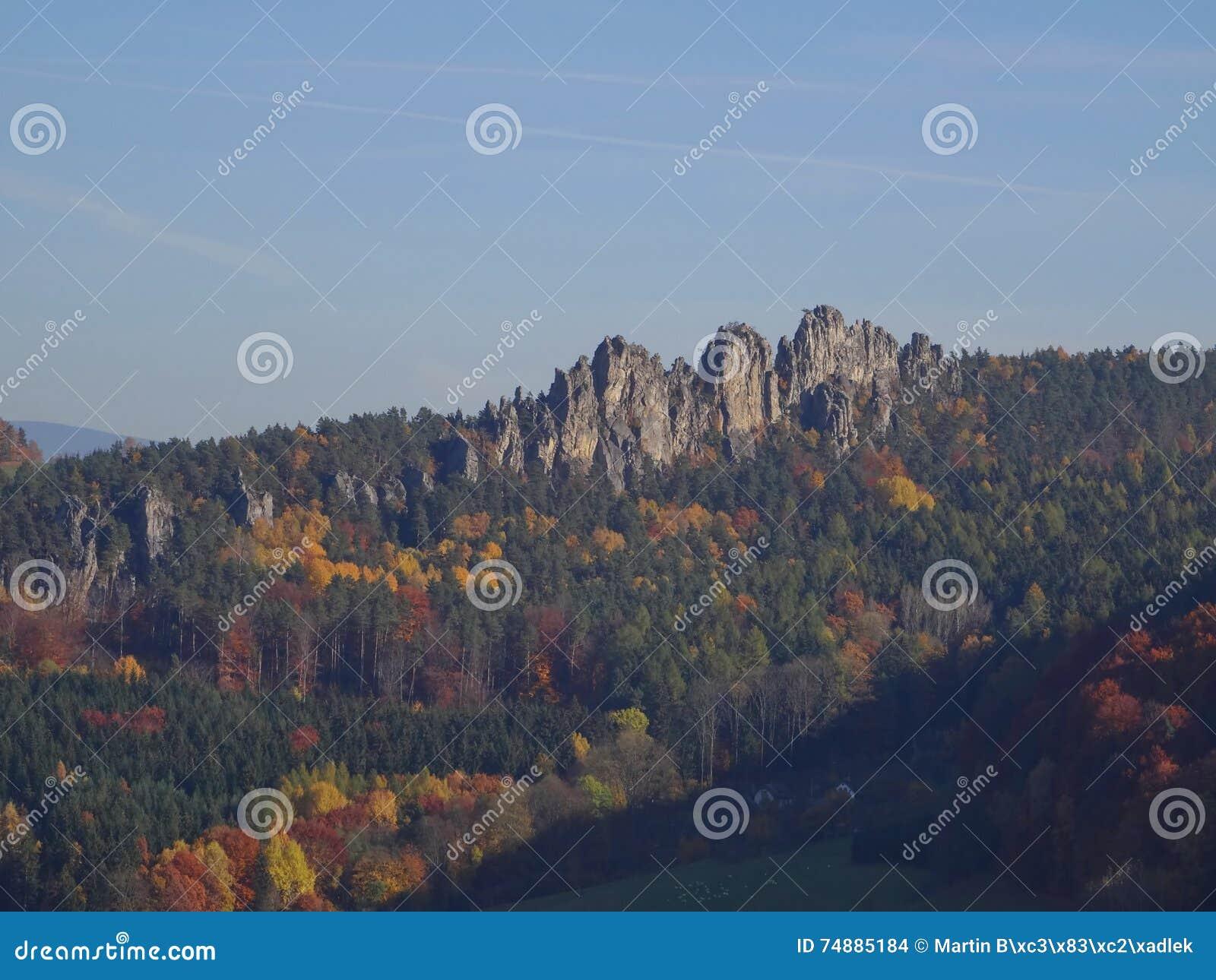 Mala-skala, böhmisches Paradies, Tschechische Republik