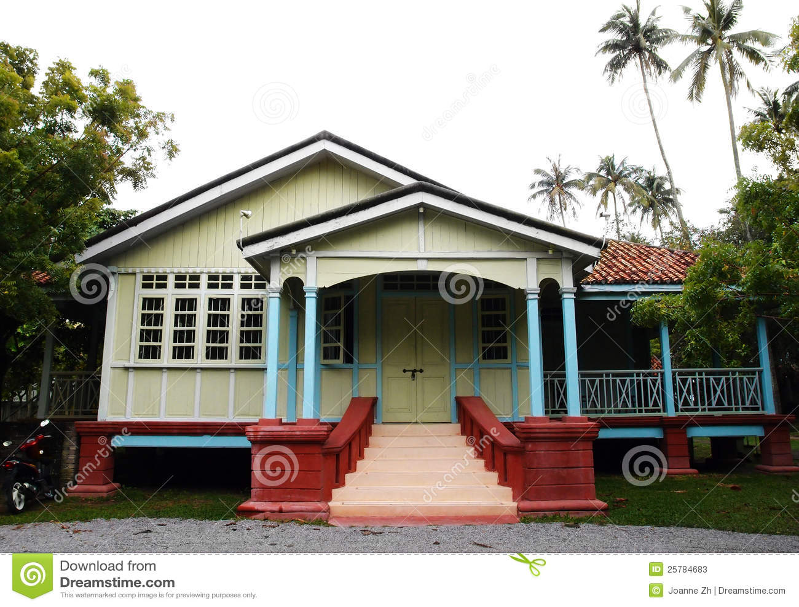 Malacca etniczny dom, Malezja