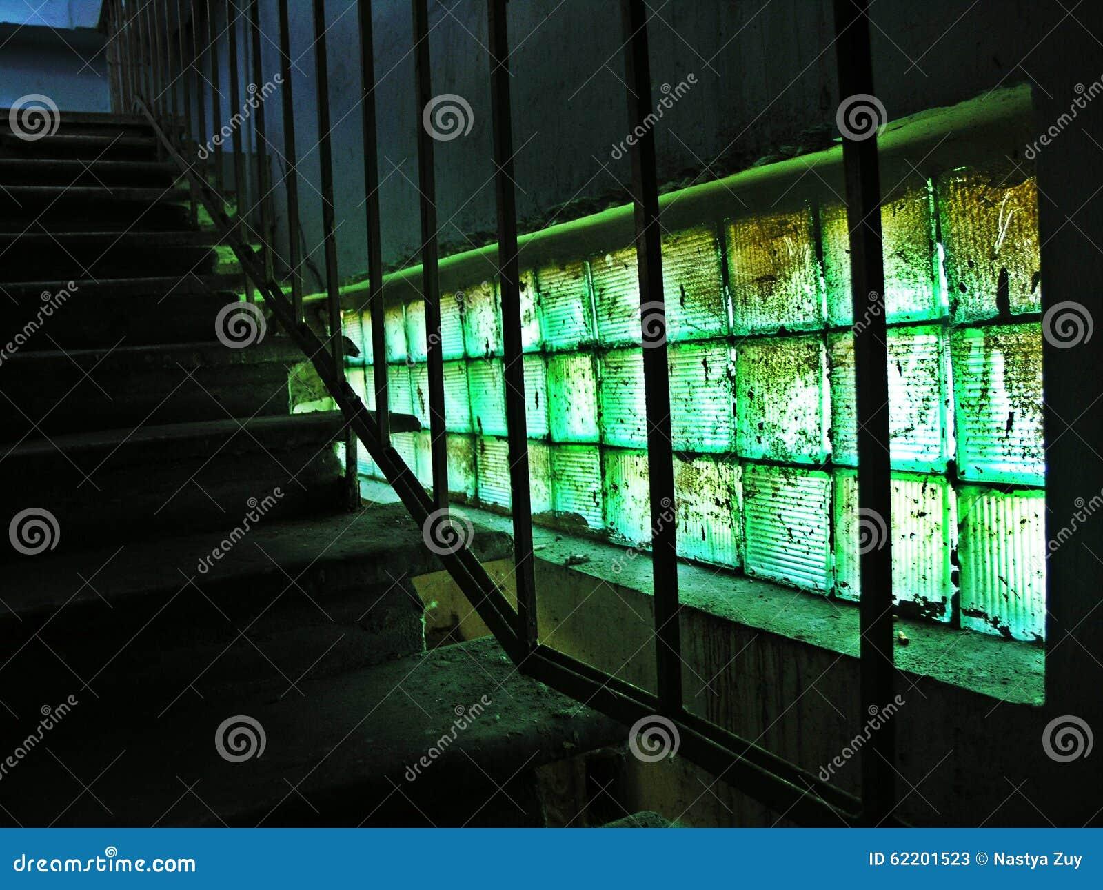 Malachiet groen venster